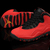 Female Jordan 10 Fusion Red Black GS Nike Sport Shoes