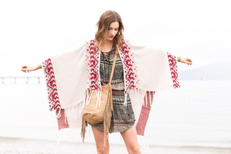 styling my life blogger romper fringed bag