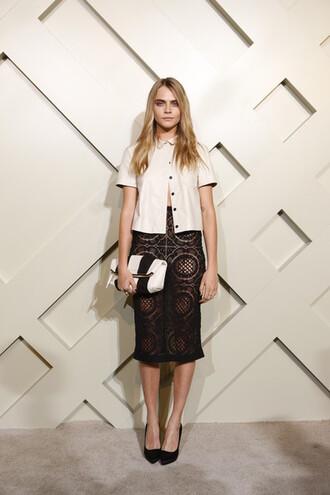 cara delevingne skirt