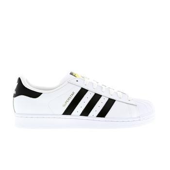 adidas superstar black white footlocker
