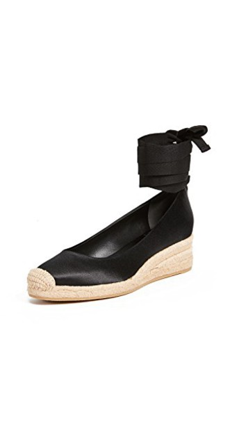 Tory Burch espadrilles black shoes