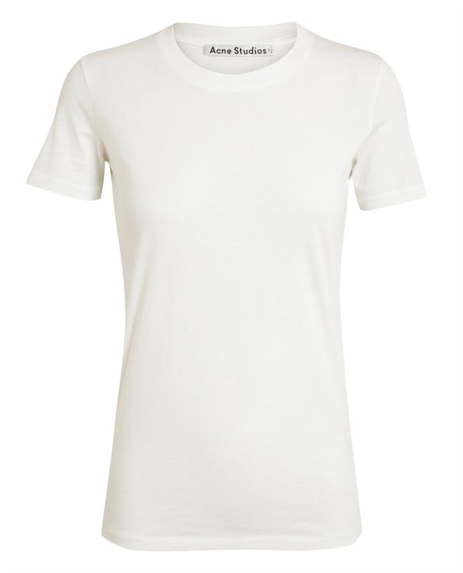 ACNE | Bliss Classic Cotton T-Shirt | Browns fashion & designer clothes & clothing