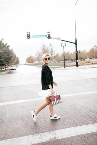 wild one forever - fashion & style by kristin blogger dress bag shoes underwear sunglasses sneakers mini skirt handbag