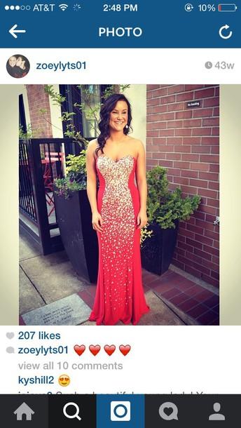 dress gold prom dress glittery