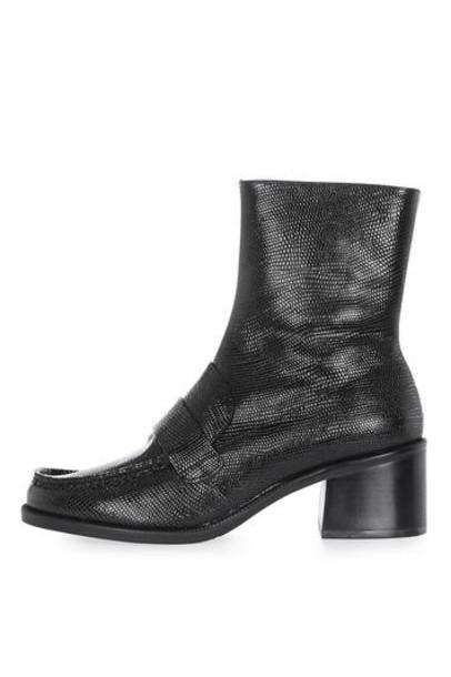 Topshop black shoes