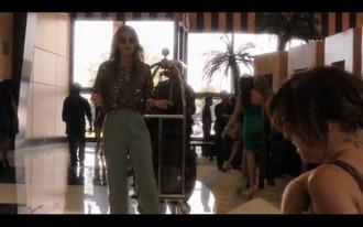 blouse glitter shirt 90210 90210 naomi tv beverly hills 90210 famous gold naomi clarks naomi clark 90210 adriana tv show tv series sparkle