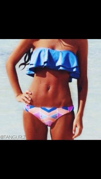 swimwear bikini bottoms patterned bikini bottoms
