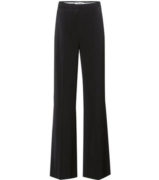 Diane Von Furstenberg high black pants