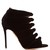 Nasiba knot velvet ankle boots