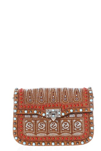 beaded bag leather bag leather