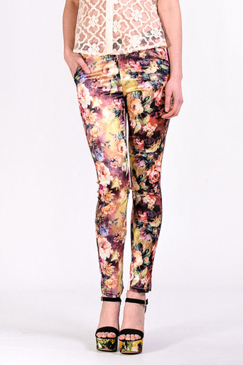 Arden Floral Trouser - Pop Couture