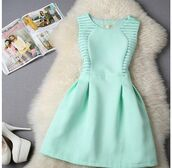 dress,summer dress,short,cocktail dress,tourquise,cute,classy,girly,classy dress,turquoise,blue,light blue,turquoise dress,it should be blue or orange,mint