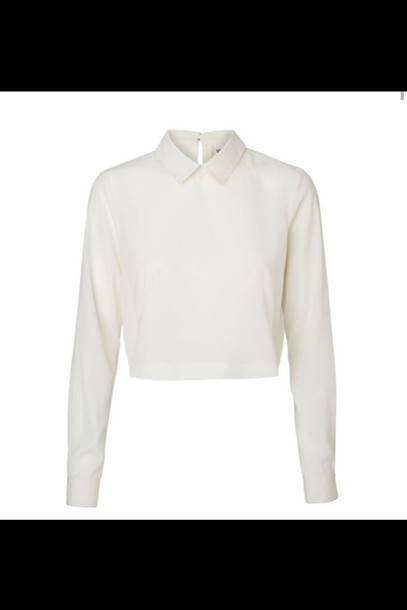 blouse white t-shirt collared collared white blouse white blouse collared shirts