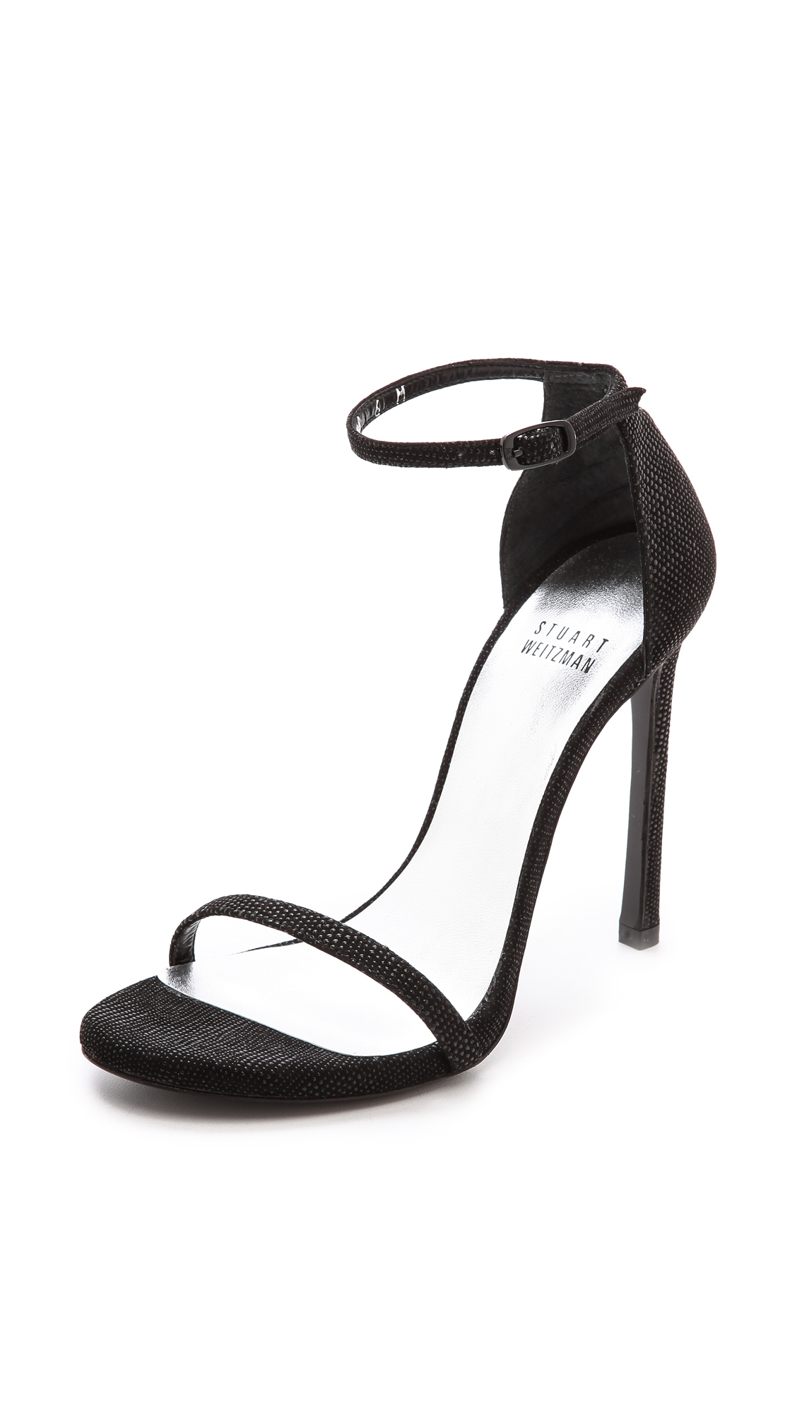 Stuart Weitzman Nudist Single Band Sandals | SHOPBOP