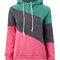 Stylish polo neck warm hoody hoodie sweatshirt jumper - newchic