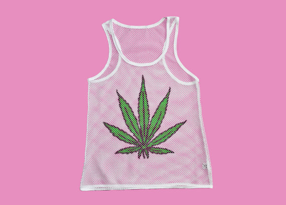 Mary Jane Mesh Tank by JUNKKYARD on Etsy