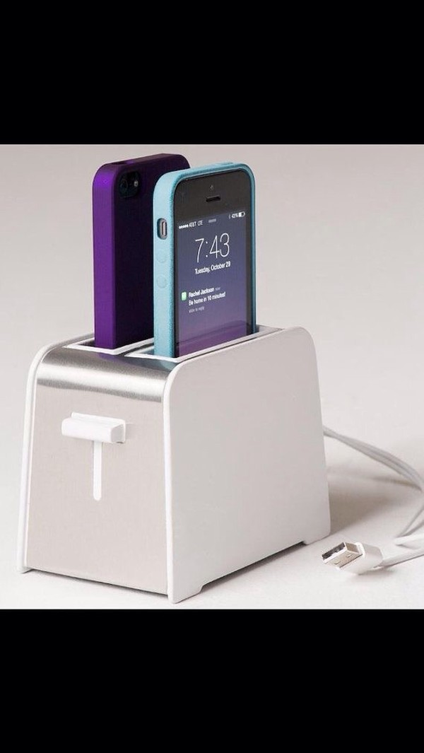 Iphone Toaster Dock Charges Your Phone