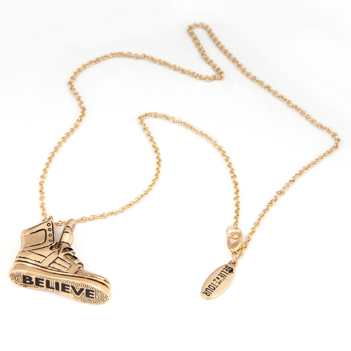 Justin Bieber Jewelry  | Justin Bieber Sneakers Necklace | Shop the Justin Bieber Official Store