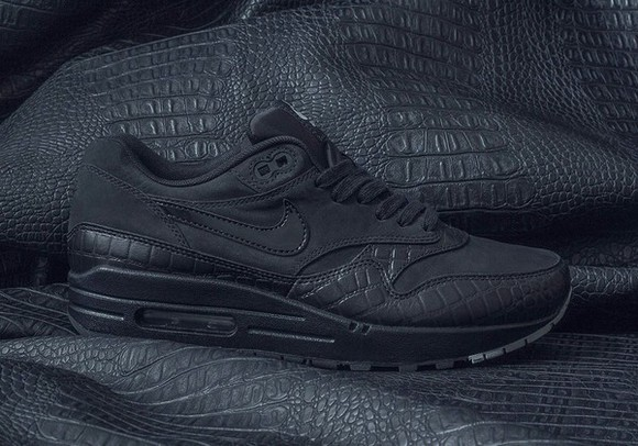 shoes crocodile skin black snake antivenom nike air max 90 black leather skirt snake skin shoe sneakers full black