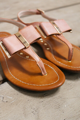 shoes sandals cognac cognac sandals flats bows amazinglace