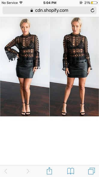 blouse girly girl girly wishlist black lace lace top see through outfit