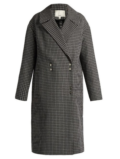 Tibi coat wool black