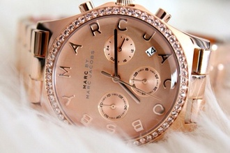 jewels marc jaccobs watch rose gold pink marc jacobs marc jacobs