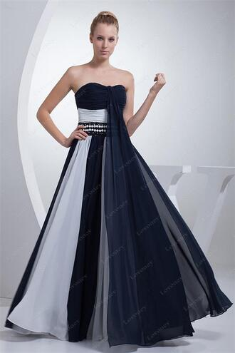dress evening dress prom dress clothes bridesmaid prom gown blue evening dresses long wedding party dress