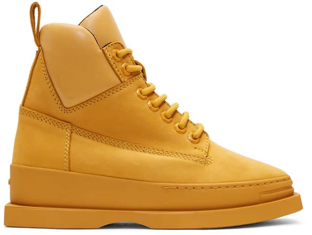 Kenzo yellow shoes