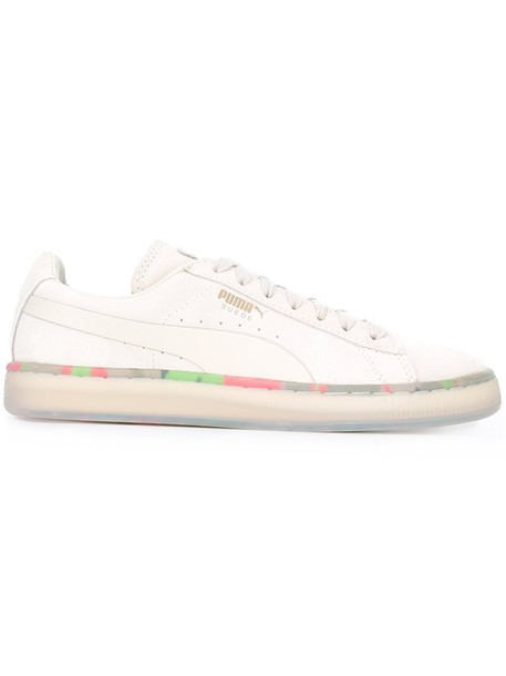 women sneakers leather white cotton suede shoes