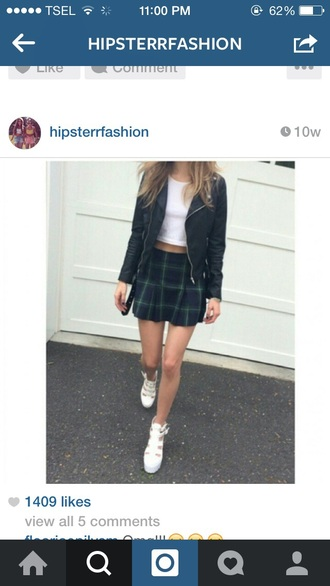 skirt tartan skirt