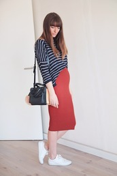 summer crush,blogger,sweater,bag,shoes,skirt,jewels