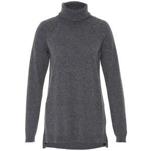 Hallhuber oversized roll neck jumper