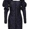 Split navy dress | moda operandi