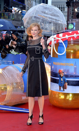 shoes sandals gown nicole kidman