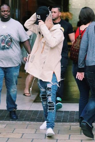 justin bieber menswear oversized mens hoodie mens ripped jeans mens jeans mens cap