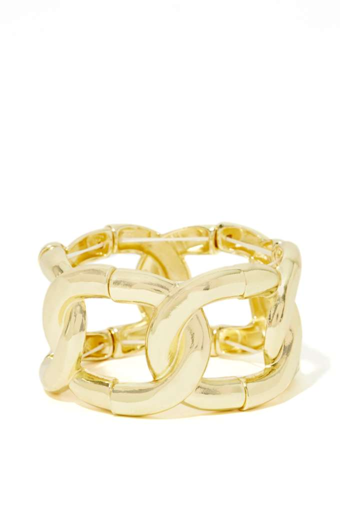 Chain Rule Bracelet at Nasty Gal
