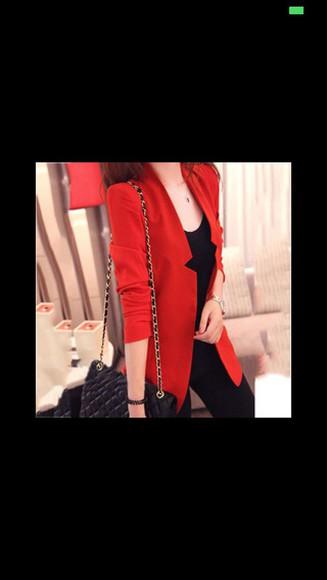 red jacket jacket