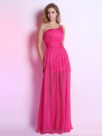 dress prom prom dress dressofgirl pink pink dress fashion style trendy girly cute cute dress sexy sexy dress maxi maxi dress log long long dress lovely love pretty one shoulder one shoulder dress bridesmaid special occasion dress princess dress floor length dress amazing fabulous gorgeous beautiful stylish the stylish soul