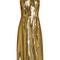Sleeveless lamé slip dress | hvn | matchesfashion.com us
