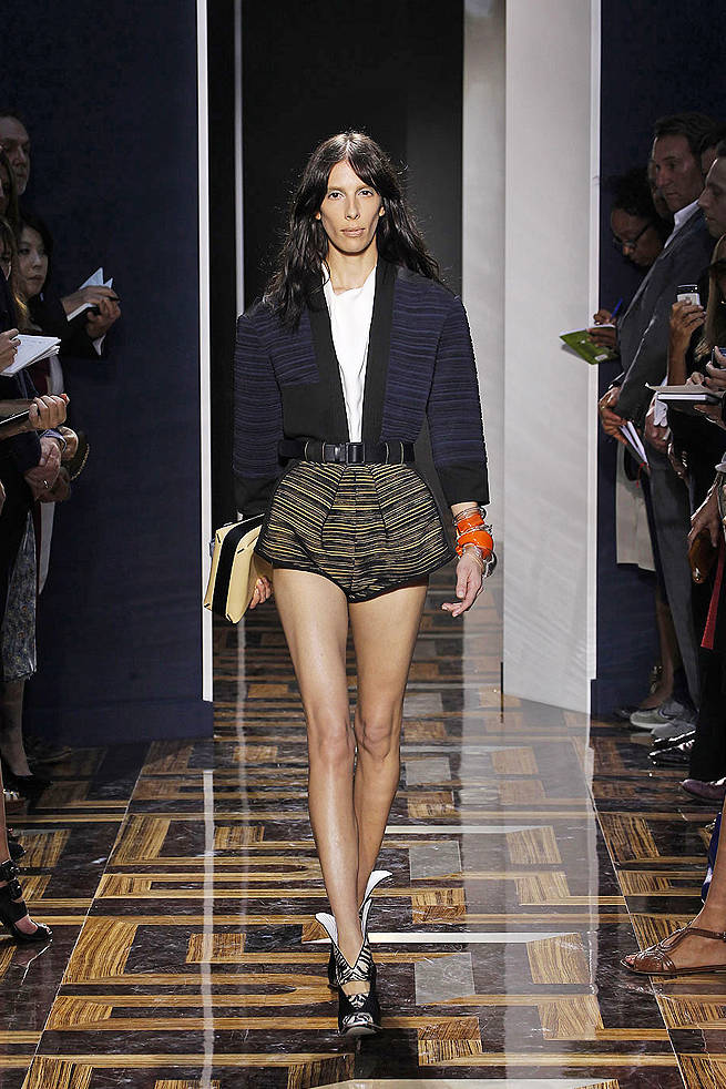 Balenciaga Spring 2012 Runway - Balenciaga Ready-To-Wear Collection