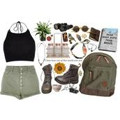 shorts,army green,olive green,green shorts,High waisted shorts