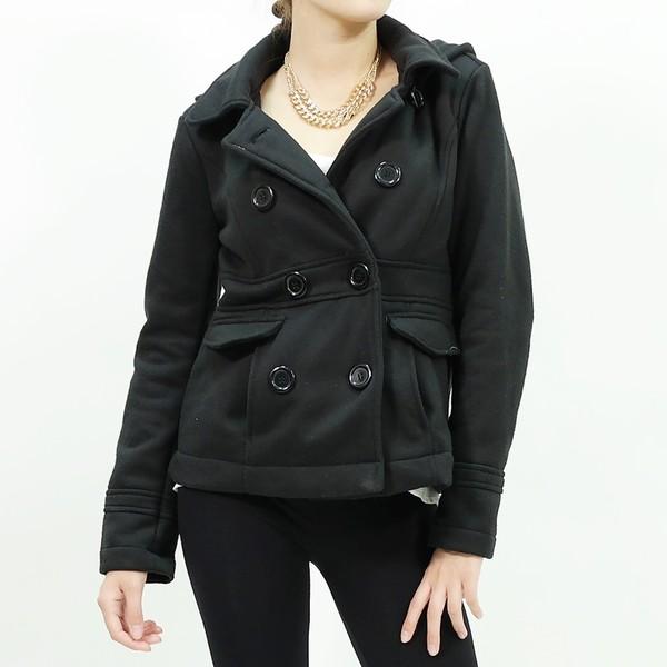 Black Button Jacket - JacketIn