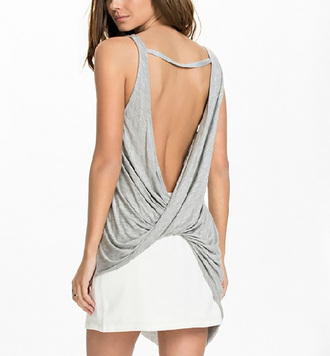 tank top backless backless tank
