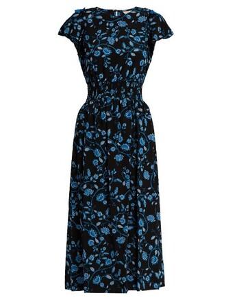 dress chiffon dress chiffon open silk blue black
