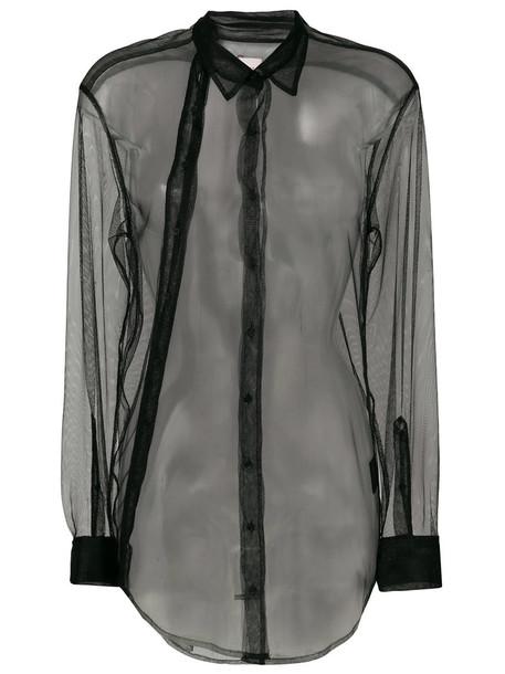 A.F.VANDEVORST jacket sheer women black