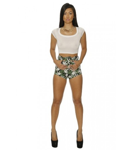 WEEDY HIGH WAIST SHORTS