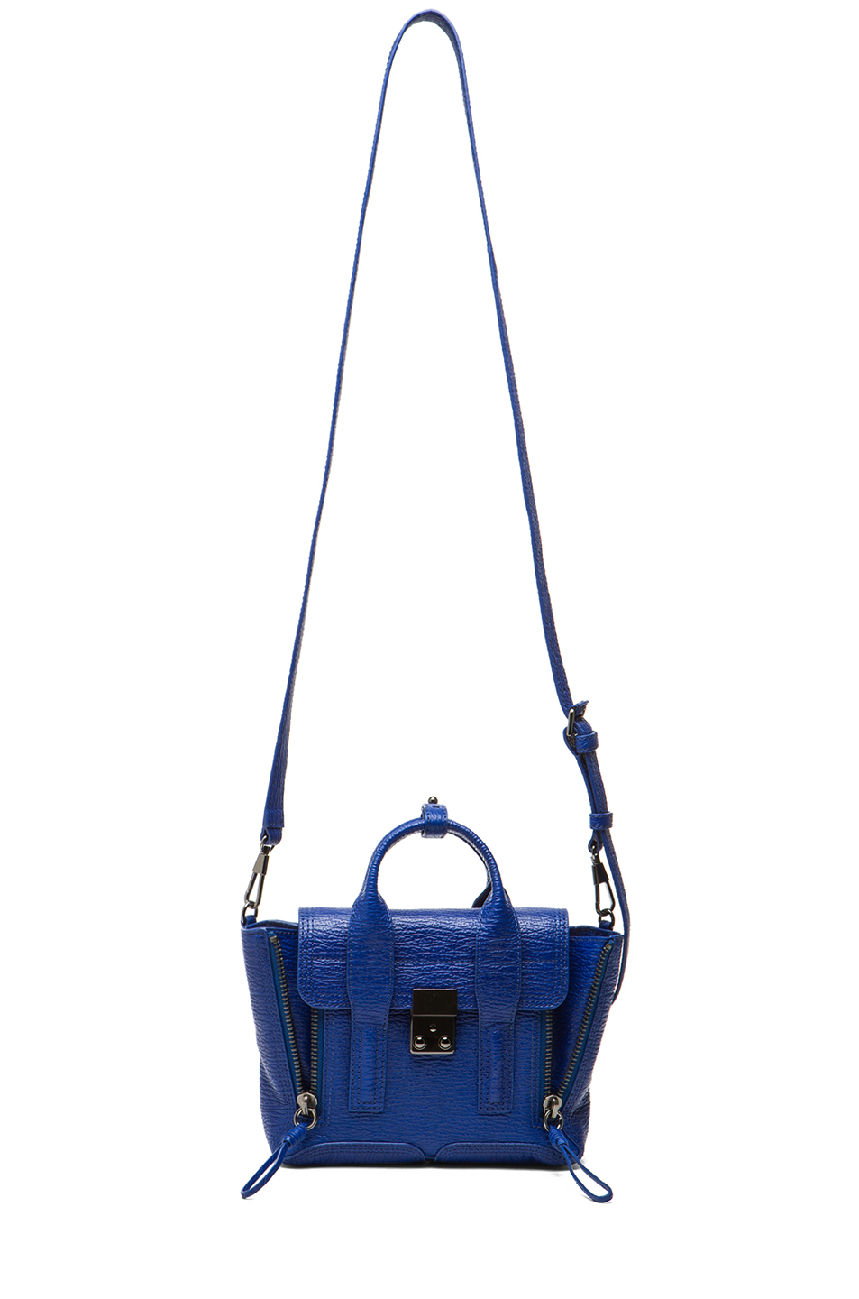 3.1 phillip lim|Mini Pashli Satchel in Cobalt