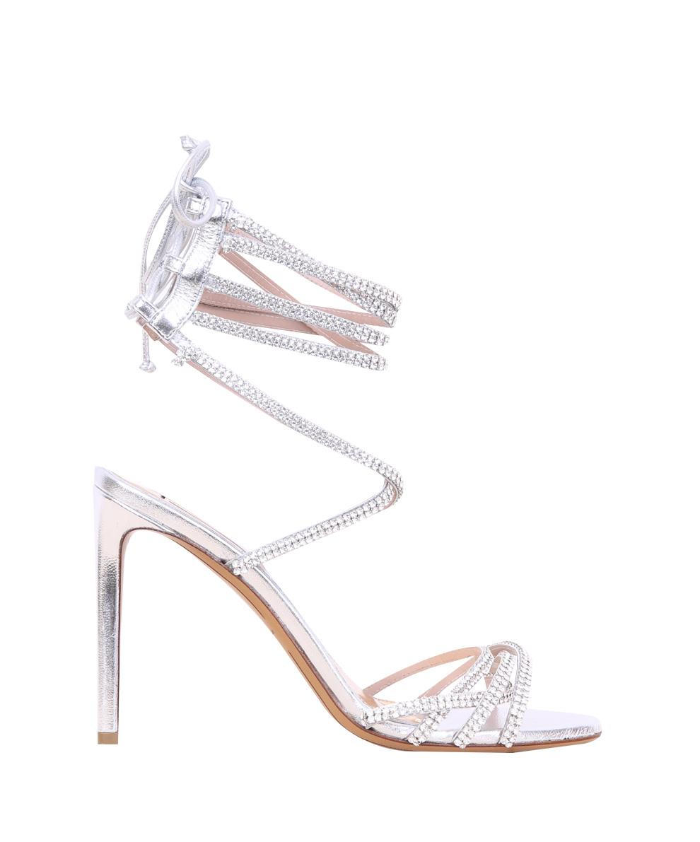 L'Inde Le Palais - Alexandre Vauthier - Women Collections Fall Winter 17/18 - Josephine laminated leather sandals