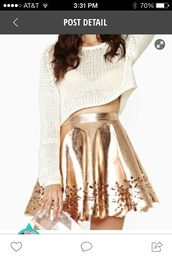skirt,gold,shimmer,holidays,cut-out